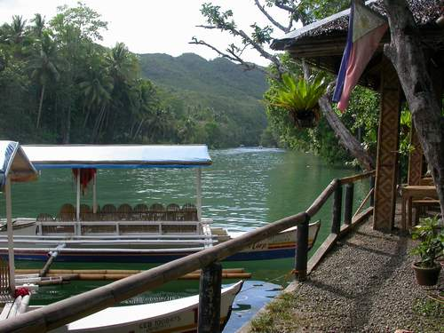 loboc river tarsier point